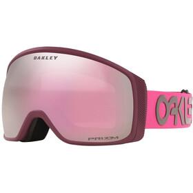 Oakley Flight Tracker XM Snow Goggles Women factory pilot grenache rubine/prizm snow hi pink